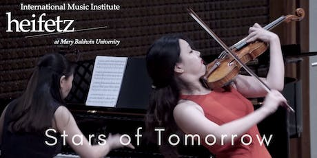 Heifetz Festival of Concerts: Stars of Tomorrow (07/25/19) tickets