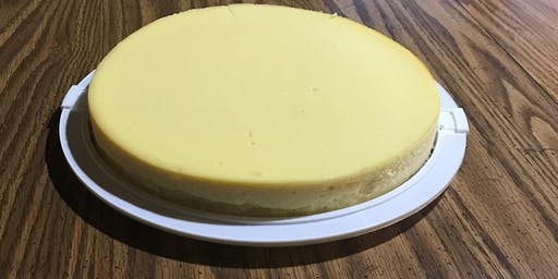 LET'S MAKE NY-STYLE CHEESECAKE