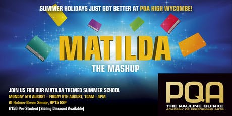 The Matilda Mash up  tickets