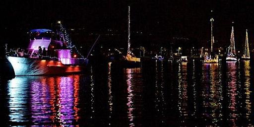 San Francisco Lighted Boat Parade aboard the Schooner Freda B