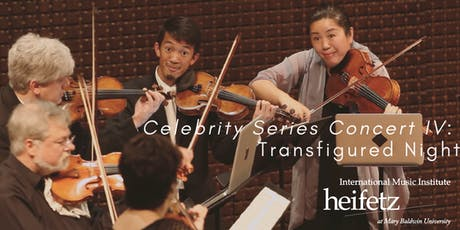 Heifetz Festival of Concerts: Celebrity Series (07/26/19) tickets