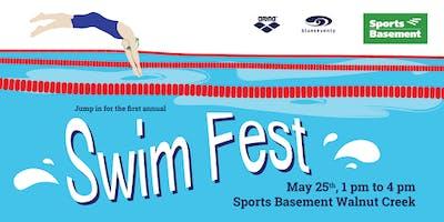 Sports Basement Walnut Creek's 1st Annual Swim Fest!