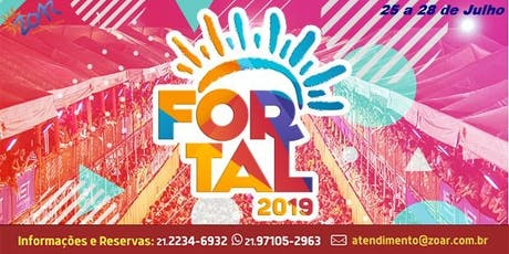 FORTAL 2019 -  PACOTES , PASSAGENS, HOSPEDAGEM, BL tickets