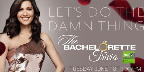 The Bachelorette Trivia at Zone 28 tickets