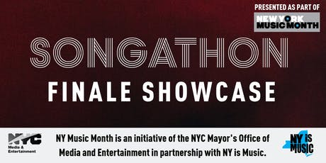Songathon NYC Finale Showcase (NY Music Month) tickets
