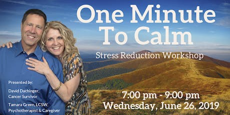 One Minute To Calm — Stress Reduction Workshop tickets