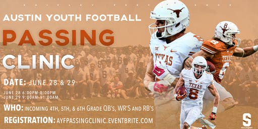 Austin Youth Football Passing Clinic