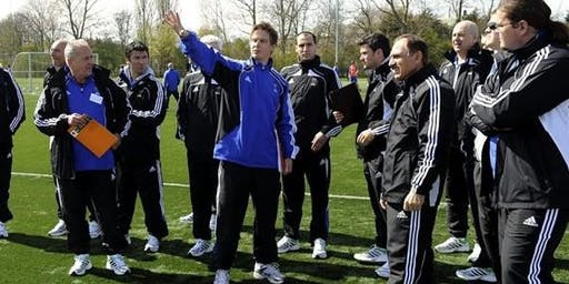 Masterclass for soccer coaches  with Eddie van Schaick from Ajax Amsterdam