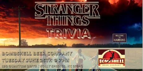 Stranger Things Trivia at Bombshell Beer Company tickets