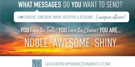 Leadership Embodiment - The Fundamentals in San Sebastian, Spain billets