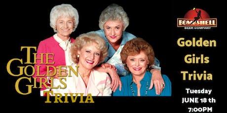 Golden Girls Trivia at Bombshell Beer Company tickets