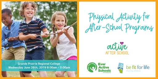 AB Active After School Training Day - Grande Prairie
