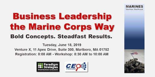 Business Leadership the Marine Corps Way