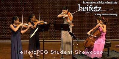 Heifetz Festival of Concerts: HeifetzPEG Student Showcase V