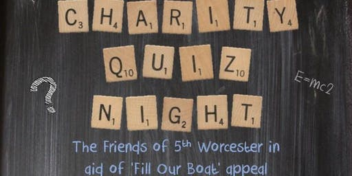 Charity Quiz Night - Friends of the 5th