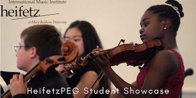 Heifetz Festival of Concerts: HeifetzPEG Student Showcase VI