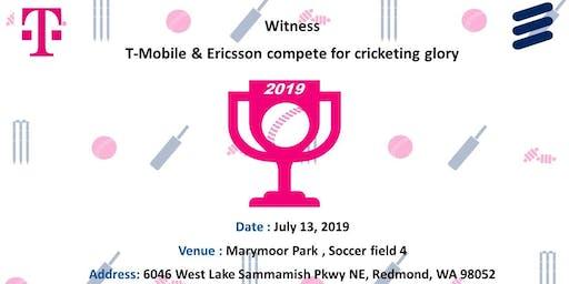 T-Mobile Ericsson Cricket match