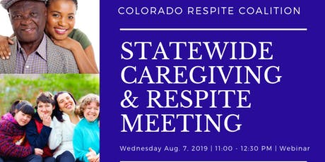 Statewide Caregiving and Respite Meeting tickets