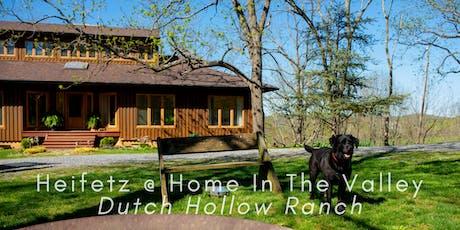 Heifetz Festival of Concerts: Heifetz @ Home In The Valley (08/04/19) tickets