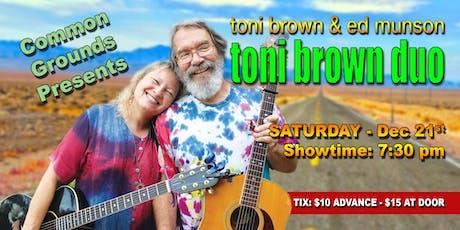 Toni Brown Duo tickets
