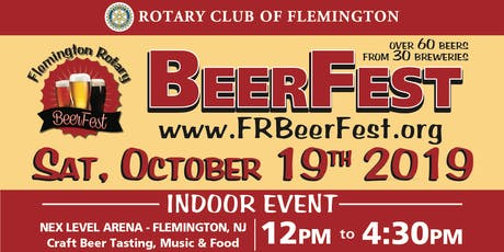 Flemington Rotary BeerFest 2019 tickets