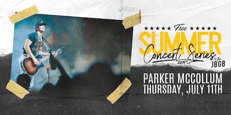 Parker McCollum live at JBGB July 11th tickets