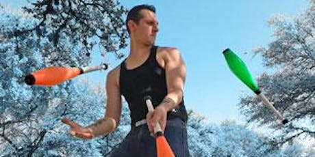Matt Tardy Stunt Juggling Show and Workshop (ages 12-18)(preregistration) tickets