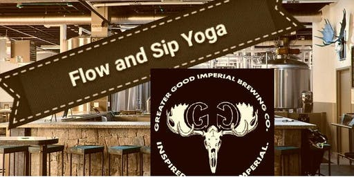 Flow and Sip Yoga