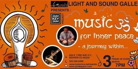 Lumonics presents the JAM KEY JAM PROJECT: Music for Inner Peace tickets