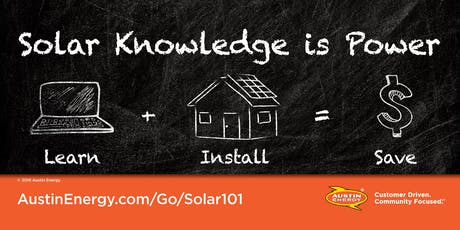 Solar Education 101 hosted by St. David's Environmental Guild tickets
