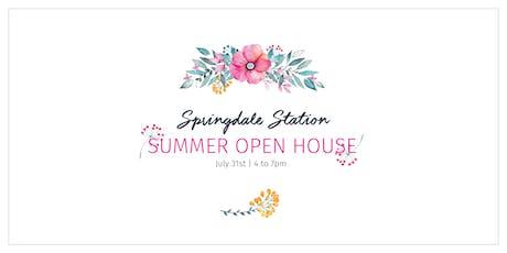 Springdale Station Summer Open House tickets