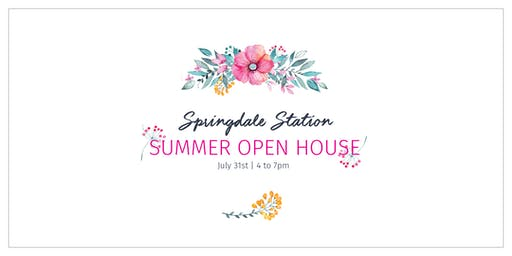 Springdale Station Summer Open House
