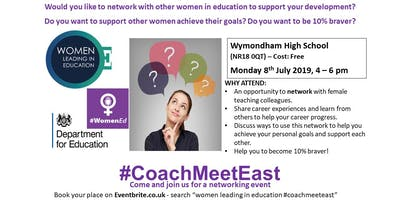 Women Leading in Education #CoachMeetEast
