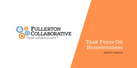 Fullerton Collaborative Task Force on Homelessness tickets