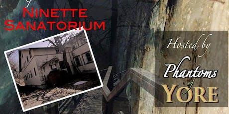 Return to Ninette Sanatorium: Paranormal Expedition tickets