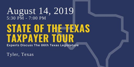 State of the Taxpayer Tour — Tyler