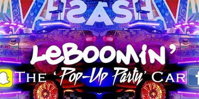 Madness2Magic Tour: Draydel & Jillee Parker @LeBoomin: The 'Pop-Up Party' Car