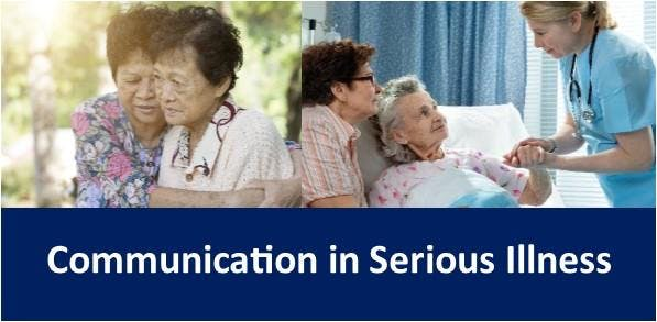 Communication in Serious Illness banner