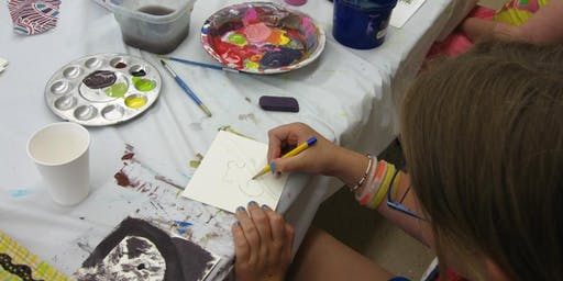 The Dalles Art Center weekly YOUTH ART CAMPS 2019