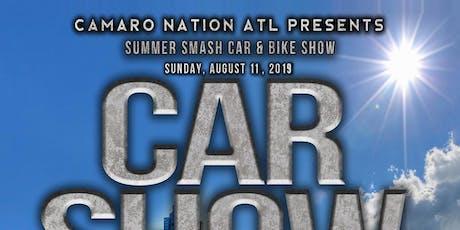 Camaro Nation ATL Summer Smash Car & Bike Show 2019 tickets