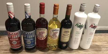 Exploring Aromatized Wine - Vermouth and Quinquina tickets