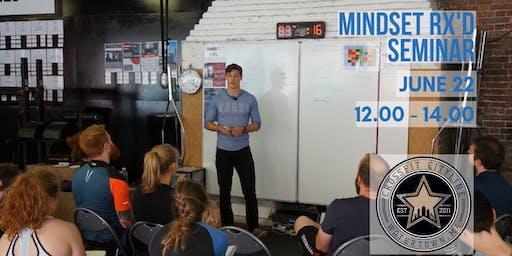 Mindset Rx'd Seminar - Watertown, MA