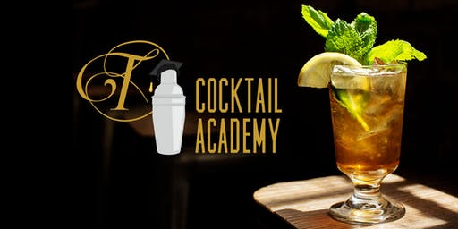 Tattersall Cocktail Academy + 4 course dinner by Quince Catering (Summer) Monday 7/15/19