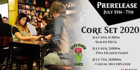 Magic the Gathering Prerelease - Core 2020 tickets
