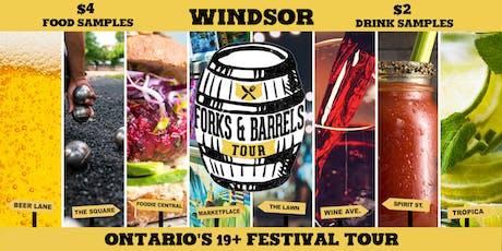 Forks and Barrels - Windsor tickets