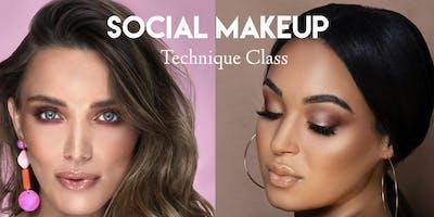 Social Makeup– Technique Class