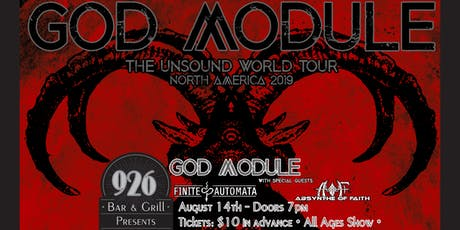 God Module - Unsound World Tour Tallahassee tickets