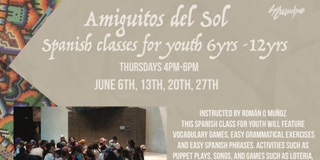 Amiguitos del Sol: Spanish Classes for Youth  tickets