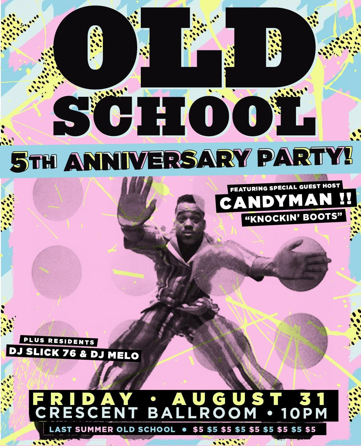 OLD SCHOOL! '90s R&B and Hip Hop Dance Party