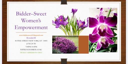Biddersweet's Women's Empowerment